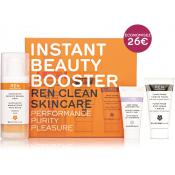 Ren - Instant Beauty Booster Kit - Exfoliant gommage visage