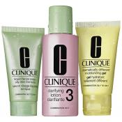 Clinique - KIT D'INITIATION TYPE DE PEAU 3 PEAU MIXTE A GRASSE - Clinique cosmetiques
