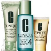 Clinique - KIT D'INITIATION TYPE DE PEAU 4 PEAU GRASSE - Soin visage clinique