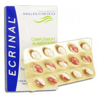 CAPSULES COMPLEMENT ALIMENTAIRE ONGLES & CHEVEUX