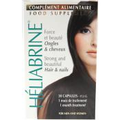 Heliabrine - CAPSULES COMPLEMENT ALIMENTAIRE ONGLES & CHEVEUX - Anti-Chute Cheveux