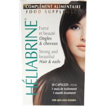 Heliabrine CAPSULES COMPLEMENT ALIMENTAIRE ONGLES & CHEVEUX - Carence alimentaires 10