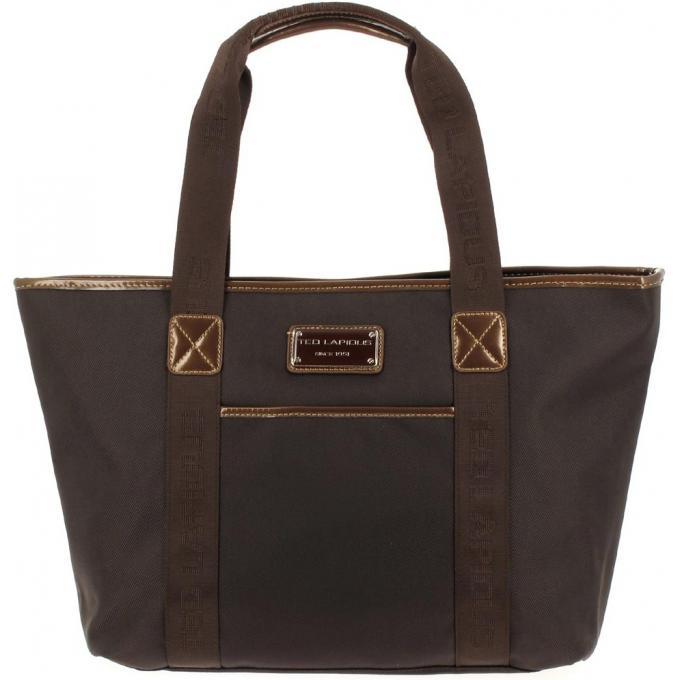 Ted Lapidus Shopping porté épaule Tonic Noir vCJNENR