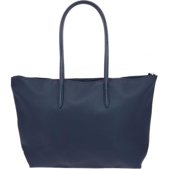 3205310020 Lacoste Grand Sac Shopping L.12.12 CONCEPT - Zippé Bleu Marine 100000170