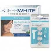 Super White Original - PACK POLISSEUR DENTAIRE & 4 RECHARGES - Super white original