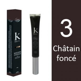 MASCARA CHEVEUX CHATAIN FONCE N°3
