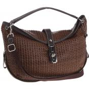 La Bagagerie - SAC CABOURG FACON CUIR TISSE -