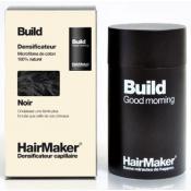 Hairmaker - DENSIFICATEUR CAPILLAIRE BUILD, Cheveux Noirs - Coloration Cheveux