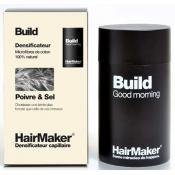Hairmaker - DENSIFICATEUR CAPILLAIRE BUILD, Cheveux Poivre et Sel - Coloration Cheveux