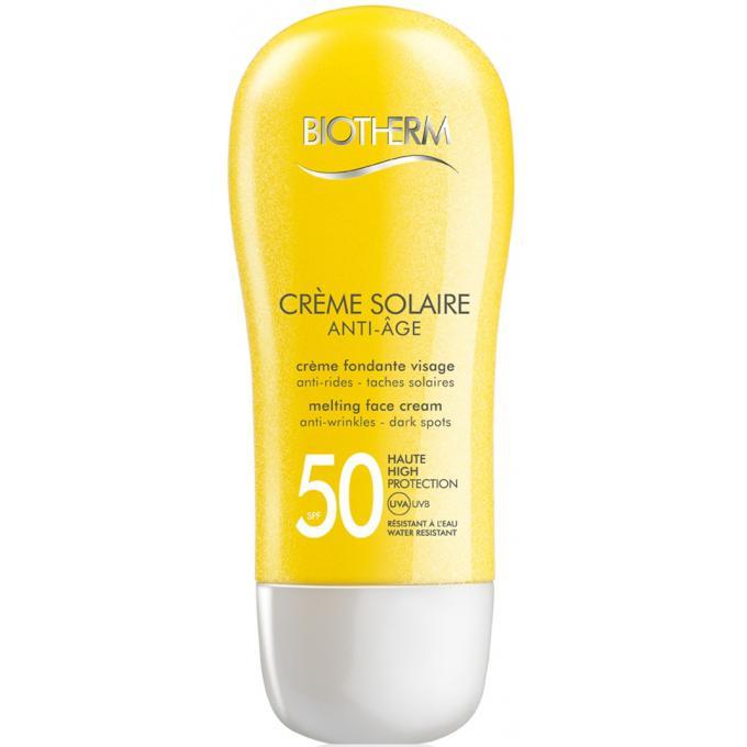 creme solaire visage anti age spf50 50 ml cosm tiques biotherm solaires womancorner. Black Bedroom Furniture Sets. Home Design Ideas
