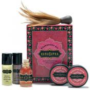 kamasutra - KIT WEEK-END FRAISE - Huile de massage kamasutra