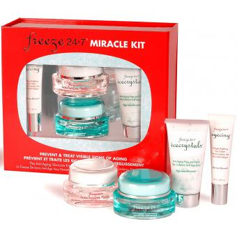 Freeze 24.7 KIT MIRACLE - Traitement Anti-Rides Instantané, Eyecing, IceCream, IceCrystals 10