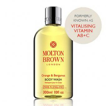 Molton Brown Bain douche vitaminé Orange & Bergamote 10