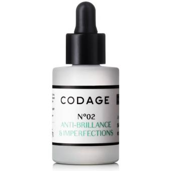 Codage SERUM N°2 VISAGE MATIFIANT & REPARATEUR 10ml 10