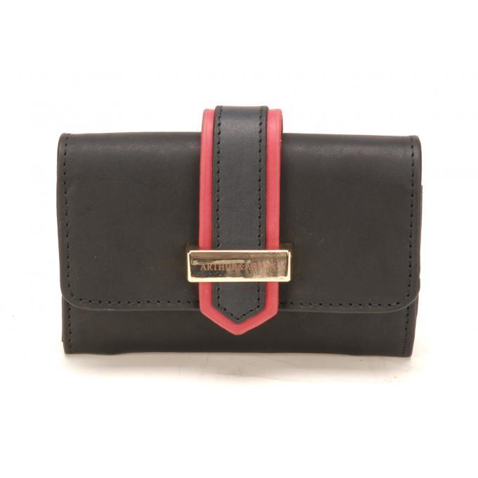 52763fbf9e7 Porte monnaie et cartes - cuir vachette - Portefeuille   Compagnon ...