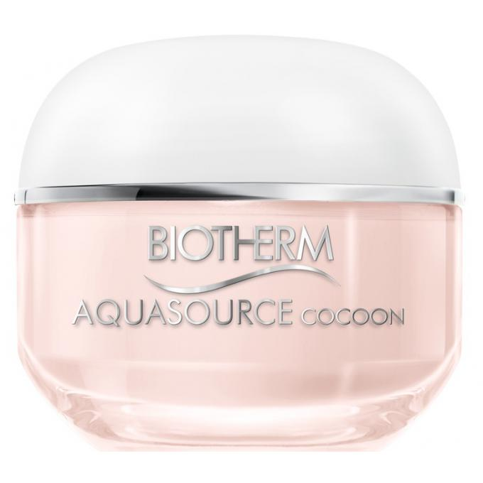aquasource cocoon hydratation profonde peau s che cr me hydratante biotherm. Black Bedroom Furniture Sets. Home Design Ideas