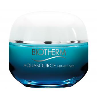 Aquasource Night 50ml -  Réhydrate, Lisse & Apaise - Biotherm