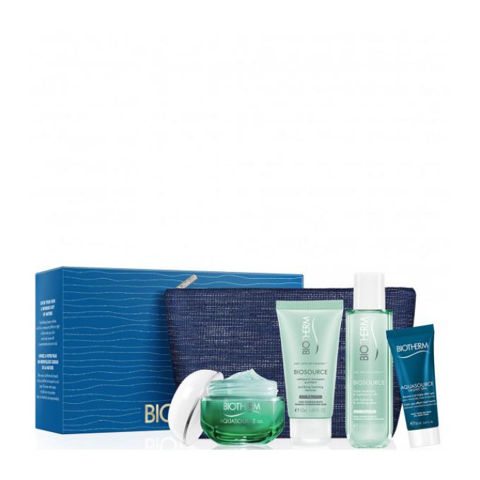Biotherm COFFRET AQUASOURCE GEL 10
