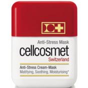 Cellcosmet - Masque Anti-Stress - Masque-Crème Matifiant Hydratant Peau Grasse - Soin visage cellcosmet