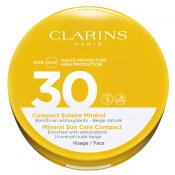 Clarins Solaires - COMPACT SOLAIRE MINERAL SPF30 VISAGE - Clarins solaires