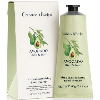 Crabtree & Evelyn Crème Mains Hydratante Avocat 10