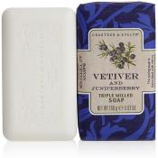 Crabtree & Evelyn - Savon Vétiver & Genièvre Peau Grasse - Crabtree and evelyn cosmetiques