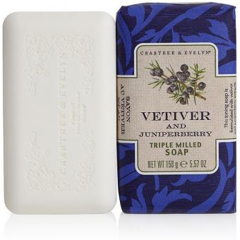 Crabtree & Evelyn Savon Vétiver & Genièvre - 150g 10