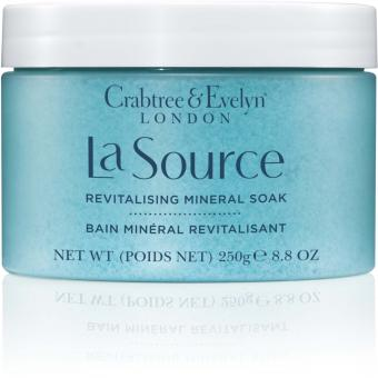 Crabtree & Evelyn Sel de Bain Minéral La Source - Revitalisant 80