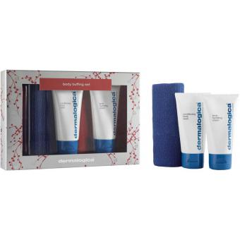 Dermalogica Coffret Body Buffing Set - Nettoyant Corps, Emulsion Corps & Serviette Exfoliante 10