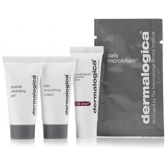 Dermalogica Coffret Mini Découverte Dermalogica - Special Cleansing Gel, Daily Microfoliant, Skin Smoothing Cream, Multivitamin Power Firm 10