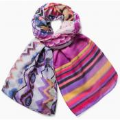 Desigual Maroquinerie - Foulard Rectangle ETHNIC DYE - Maroquinerie