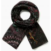 Desigual - Foulard Rectangle NOA - Bonnets, écharpes & gants