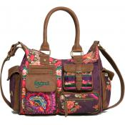 Desigual Maroquinerie - SAC BOWLING ALIKA – Multiples Poches - Sac Bandoulière
