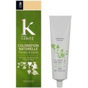 K pour Karite - COLORATION NATURELLE BLOND CLAIR N°8 - Coloration Cheveux