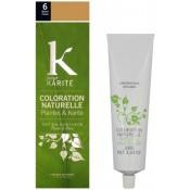 K pour Karite - COLORATION NATURELLE BLOND FONCÉ N°6 - Coloration Cheveux