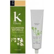 K pour Karite - COLORATION NATURELLE BLOND MOYEN N°7 - Coloration Cheveux