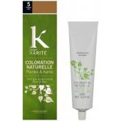 K pour Karite - COLORATION NATURELLE CHATAIN CLAIR N°5 - Coloration Cheveux