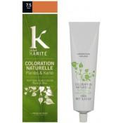 K pour Karite - COLORATION NATURELLE ROUX N°7,5 - Coloration Cheveux