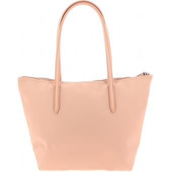 b784f344a6 Lacoste Petit Sac Shopping L.12.12 CONCEPT - Zippé rose clair 100755057