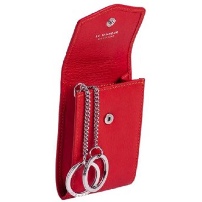 Le Tanneur PORTE-CLES VALENTINE - Cuir 70. Le Tanneur Rouge 80 28f04a0cdc5
