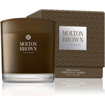 Molton Brown Bougie 3 Mèches Tabac - 480g 10