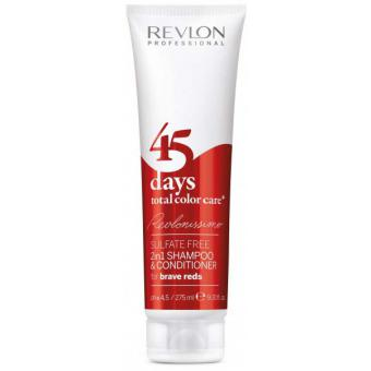 Color Care 45 Days Shampoing et Soin Brave Reds