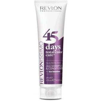 Revlon Color Care 45 Days Shampoing et Soin Ice Blondes - Couleur Blond Froid 10