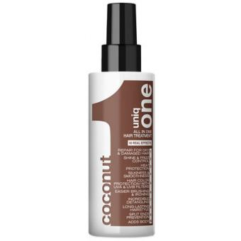 Revlon UNIQ ONE HAIR TREATMENT ALL IN ONE SPRAY COCONUTSoin Capillaire tout en un noix de Coco 10